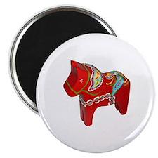 Red Dala Horse Magnet Magnets