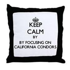 Keep calm by focusing on California Condors Throw