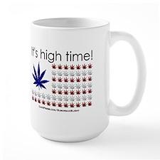 """High Time Cannabis Flag"" Mug"