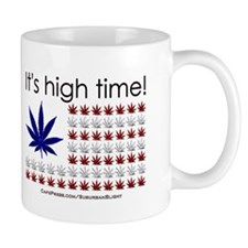 """High Time Cannabis Flag"" Mug"