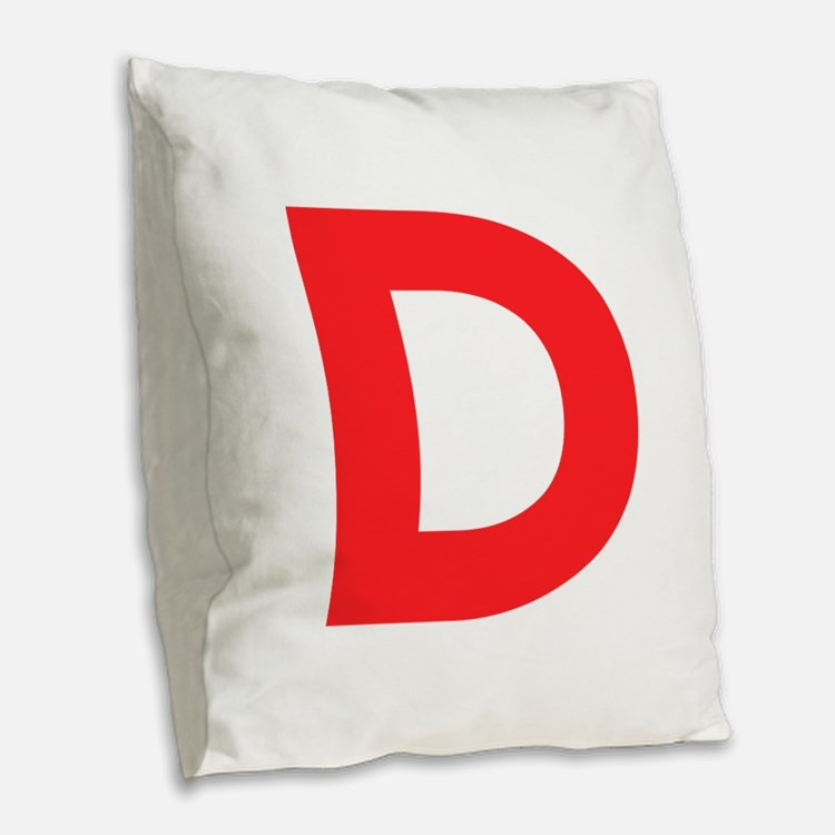 Throw Pillows With Letters : Letter D Pillows, Letter D Throw Pillows & Decorative Couch Pillows