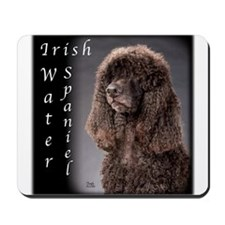 Irish Water Spaniel Mousepad
