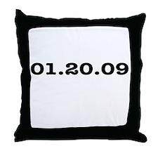 Bush's Last Day Throw Pillow