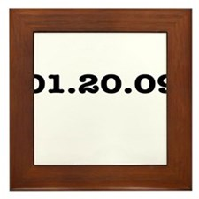 Bush's Last Day Framed Tile