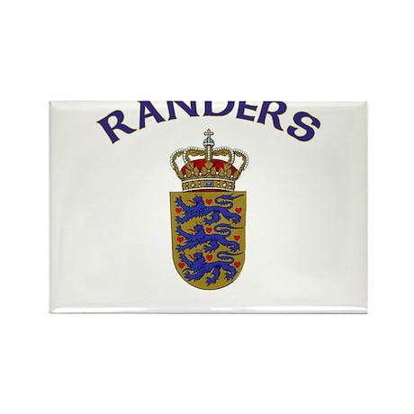 Randers, Denmark Rectangle Magnet (10 pack)