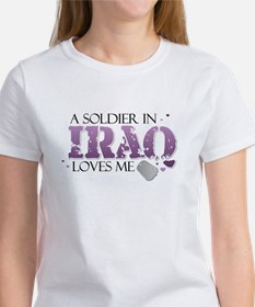 A Soldier in Iraq loves me Tee