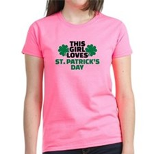 This girl loves St. Patrick's Tee