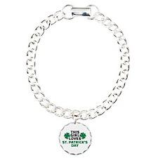 This girl loves St. Patr Charm Bracelet, One Charm