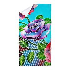 02 Asia Batik Art Beach Towel