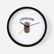 Odense, Denmark Wall Clock