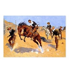 Cowboy art: Turn Him Loos Postcards (Package of 8)