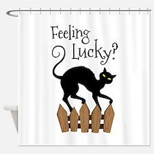 Feeling Lucky? Shower Curtain