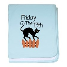 Friday The 13th baby blanket