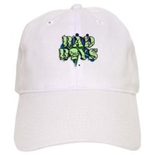 Bad boy skull o graffiti style Baseball Cap