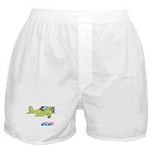Girl Airplane Pilot Medium Boxer Shorts