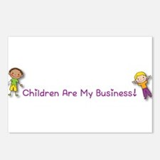 Children Are My Business Postcards (Package of 8)