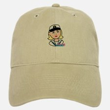 Light/Blonde Navy Head - Dress Whites Baseball Baseball Cap