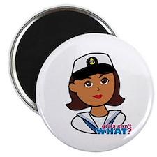 Dark Navy Head - Dress Whites Magnet
