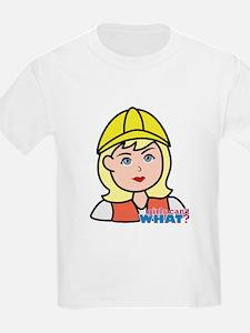 Construction Worker Head - Ligh T-Shirt