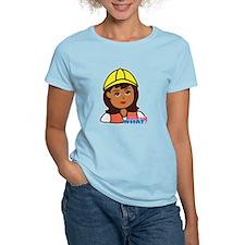 Construction Worker Head - D T-Shirt