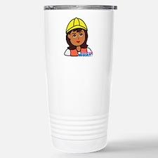 Construction Worker Hea Travel Mug