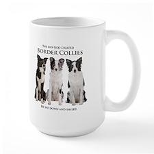 Creation of Border Collies Mugs