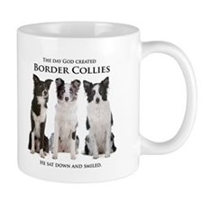 Creation of Border Collies Mugs