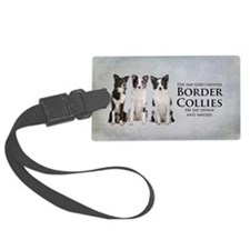 Creation of Border Collies Luggage Tag