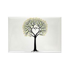 Love tree with heart branches, birds and hearts Ma