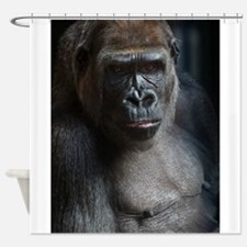 Portrait Of a Gorilla Shower Curtain