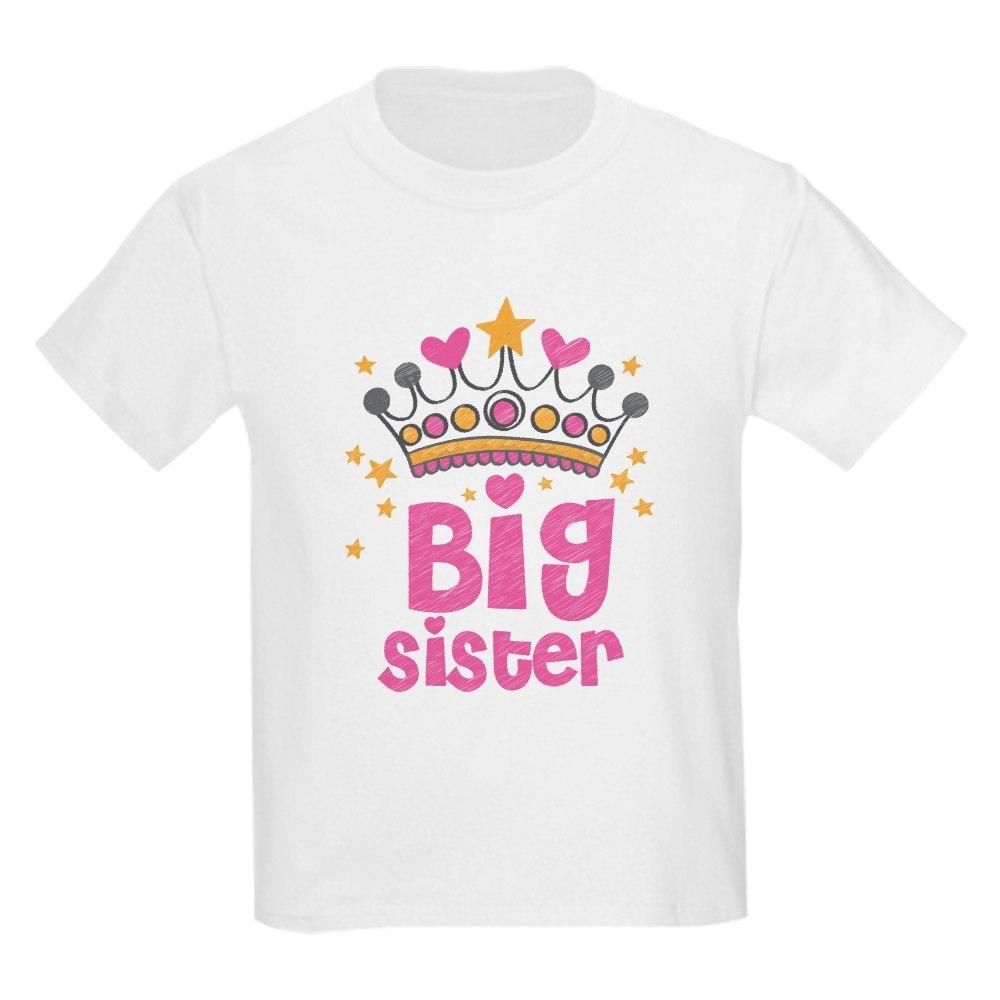 CafePress Big Sister T Shirt Kids Light T-Shirt 1252451635