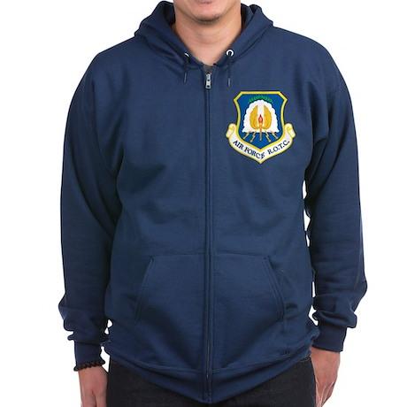 USAF ROTC Zip Hoodie (dark)