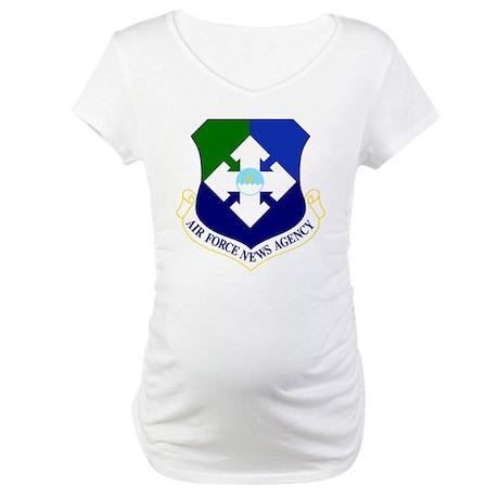 USAF News Agency Maternity T-Shirt