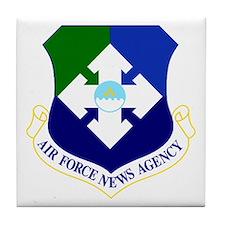 USAF News Agency Tile Coaster