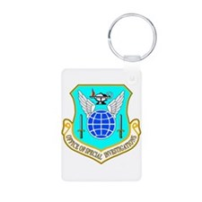 USAF OSI Aluminum Photo Keychain