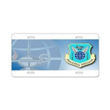 USAF OSI Aluminum License Plate