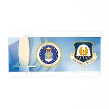 USAF ROTC Aluminum License Plate