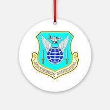 USAF OSI Ornament (Round)