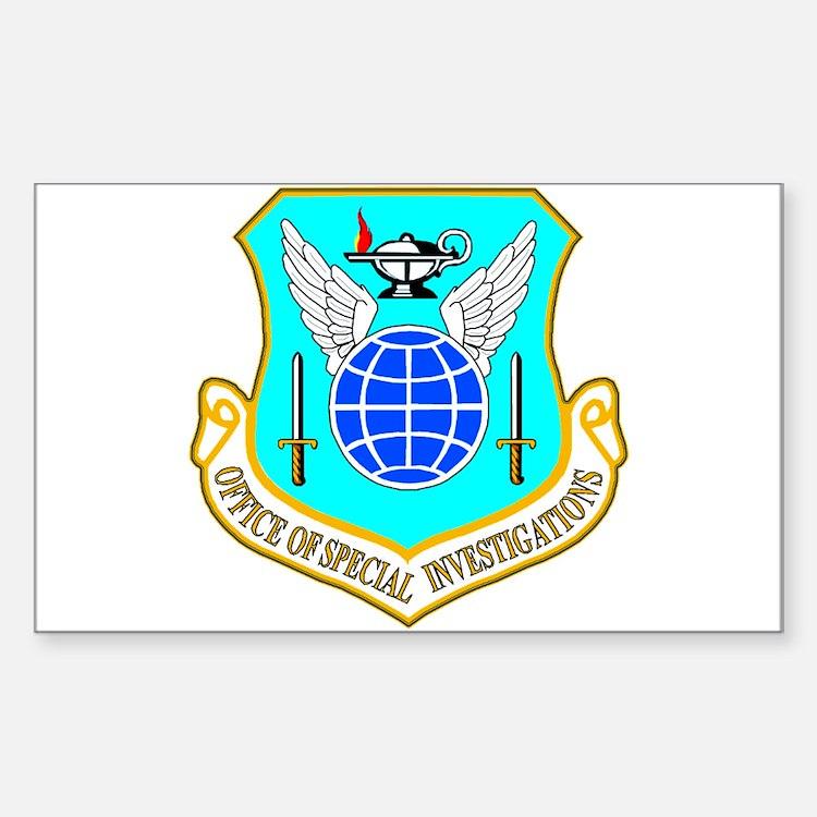 USAF OSI Sticker (Rectangle)
