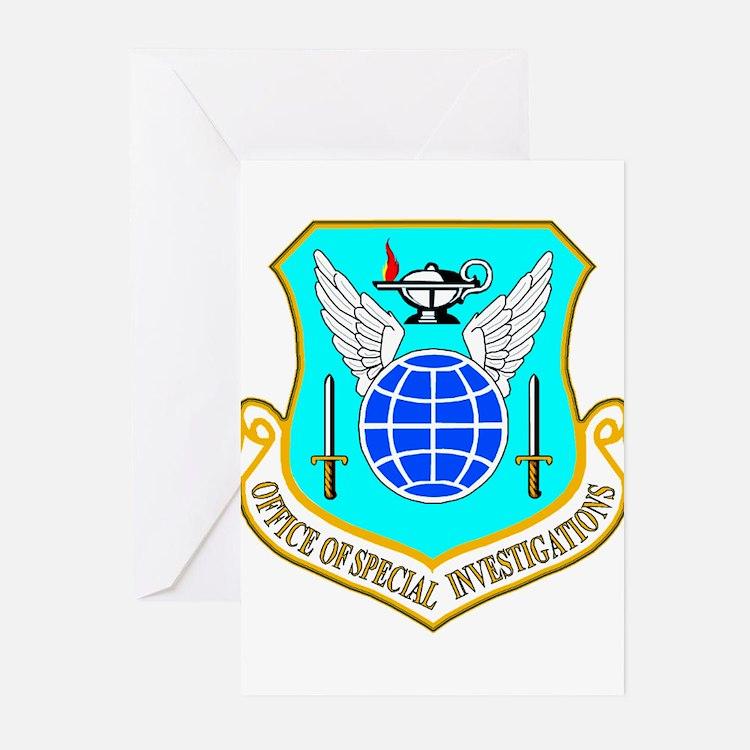 USAF OSI Greeting Cards (Pk of 10)