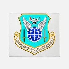 USAF OSI Throw Blanket