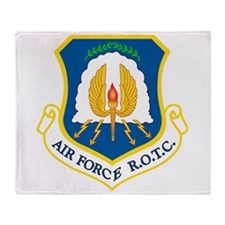 USAF ROTC Throw Blanket