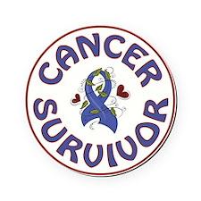 CANCER SURVIVOR Cork Coaster