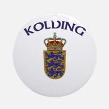 Kolding, Denmark Ornament (Round)