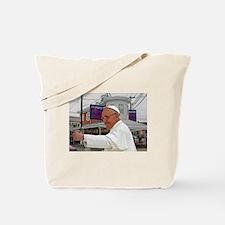 Pope Visits Pat's Tote Bag
