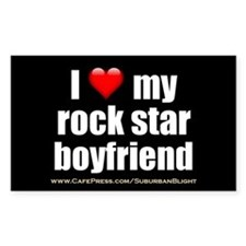 """Love My Rock Star Boyfriend"" Decal"