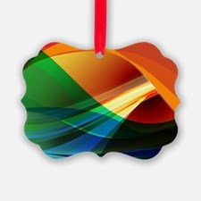 Colorful Abstract Art Ornament