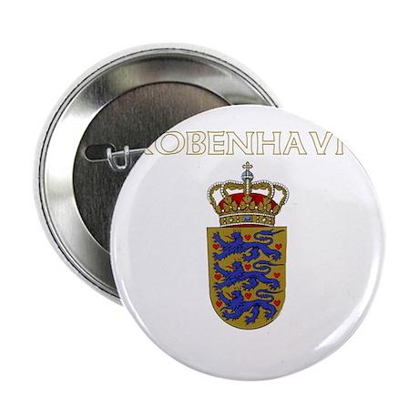 """Kobenhavn, Denmark 2.25"""" Button (100 pack)"""