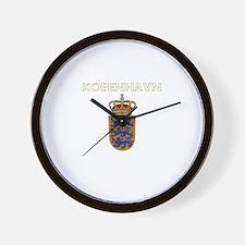 Kobenhavn, Denmark Wall Clock