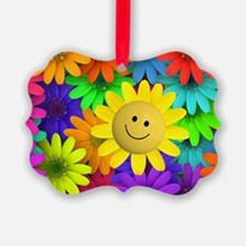 Colorful Art of Flower Ornament